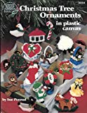 img - for Christmas Tree Ornaments in Plastic Canvas book / textbook / text book