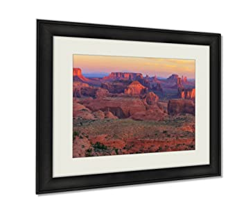 Amazon.com: Ashley Framed Prints Sunrise At Hunts Mesa ...