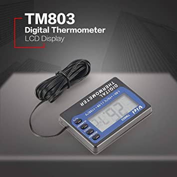 fghdfdhfdgjhh Ajuste TM803 Pantalla LCD digital Termómetro ...