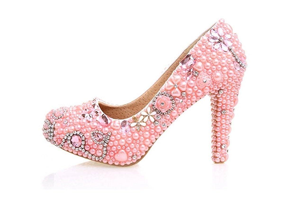 超可爱 [Minishion] レディース Heel B075568JB2 Pink-10cm Heel [Minishion] 5 レディース B(M) US, JPLAMP:8790893c --- a0267596.xsph.ru