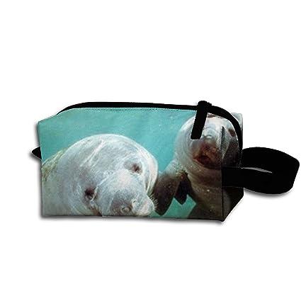 f27d63e5597e Amazon.com: CRSJBB219 Pair of Manatee Doug Perrine Ocean Animal ...