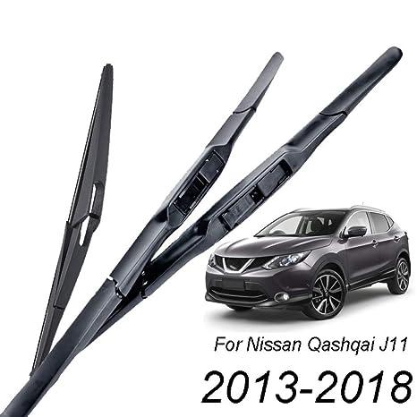 ZSZMLY Limpiaparabrisas, para Nissan Qashqai J11 2013-2018 ...