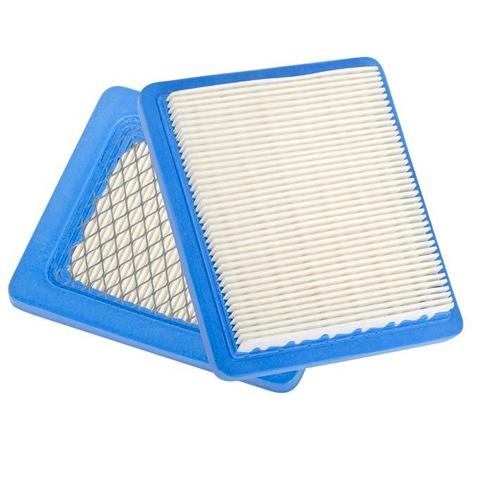 Filtro de colmena Aftermarket Pack de 2 filtro de aire para ...