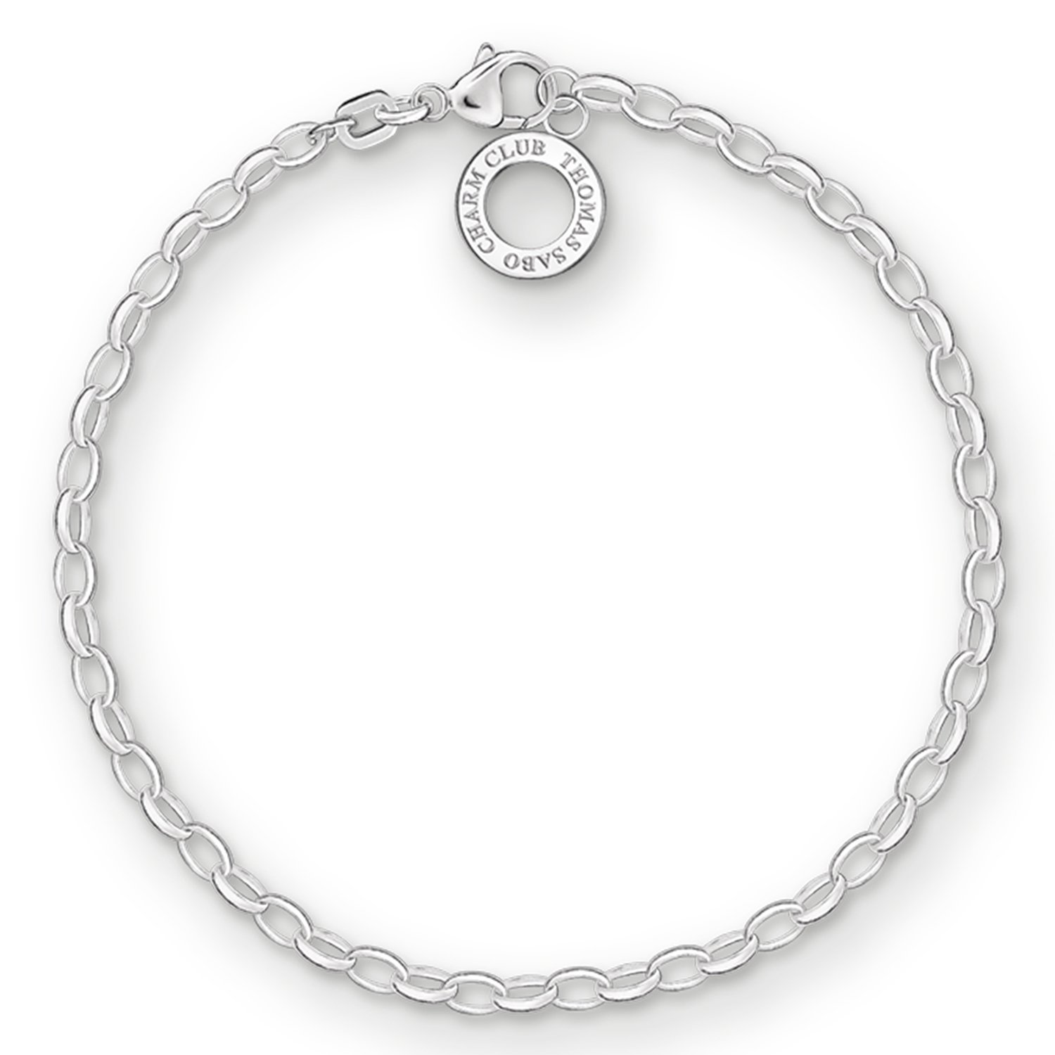 9459224fa871 Thomas Sabo Silver Bracelet for Charms Classic X0163-001-12