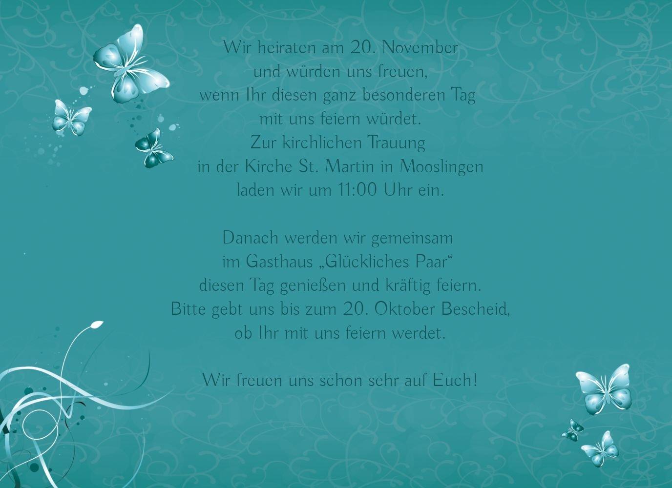 Kartenparadies Kartenparadies Kartenparadies Hochzeitskarte Hochzeit Einladung butterfly, hochwertige Einladung zur Heirat inklusive Umschläge   10 Karten - (Format  148x105 mm) Farbe  Lila B01NBX5GAA | Offizielle  | Sale  | Großer Verkauf  36d922