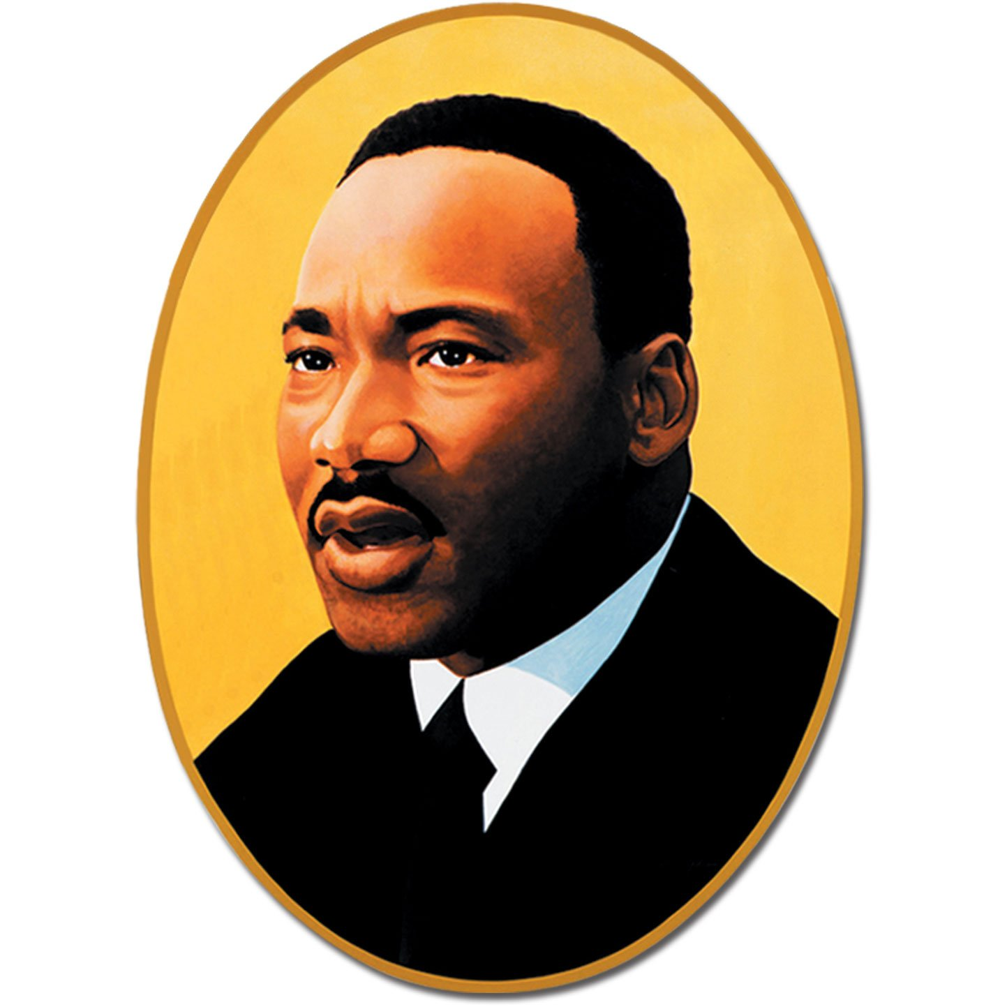 amazon com beistle 55843 martin luther king cutout 25 inch party rh amazon com mlk clip art free images mlk clip art on freedom