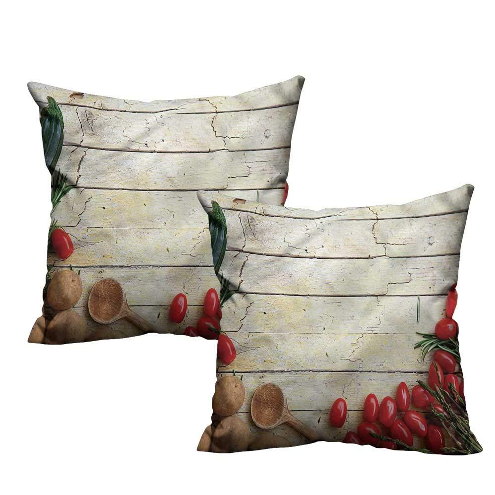 Amazon.com: HeKua - Funda de almohada rústica, adorable y ...