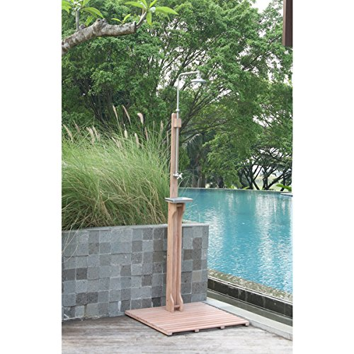 Cambridge Casual Astoria Outdoor Shower, 30 inches long x 30 inches wide x 77 1/2 to 81 1/2 inches high by Generic (Image #2)