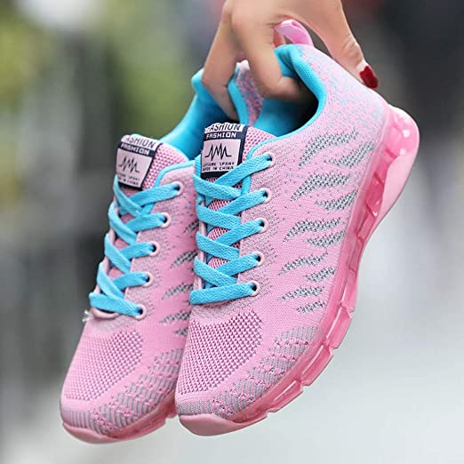 Zapatos de Mujer, ASHOP Zapatillas Deportivas de Running para Mujer Colchón de Aire Sneakers de Entrenamiento: Amazon.es: Ropa y accesorios