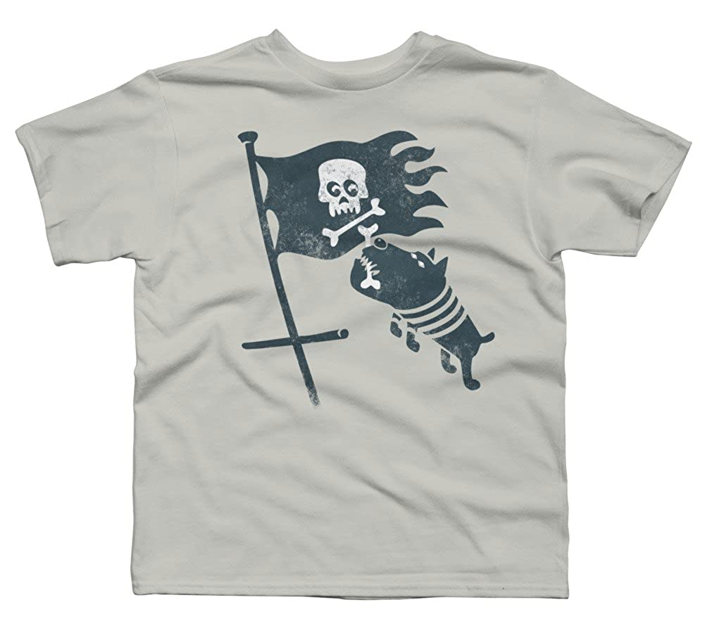 Design By Humans jolli roger Boys Youth Graphic T Shirt