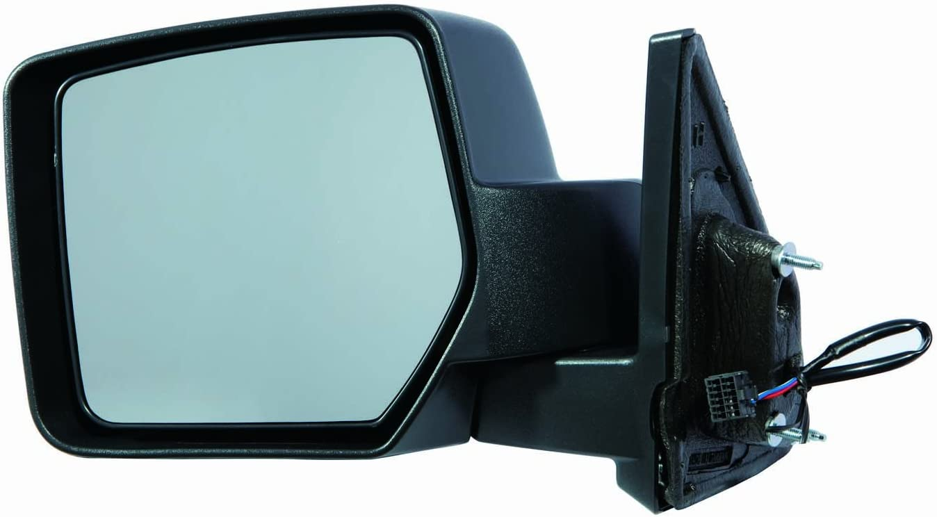 Depo 333-5413L3EF Jeep Patriot Driver Side Textured Non-Heated Power Mirror