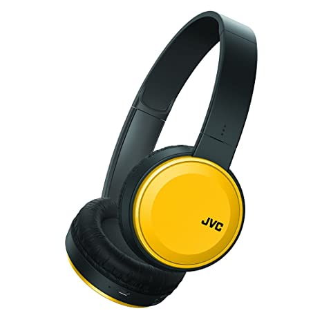 3ff79eb2ecb Image Unavailable. Image not available for. Color: JVC Wireless Lightweight  Flat Foldable On Ear ...