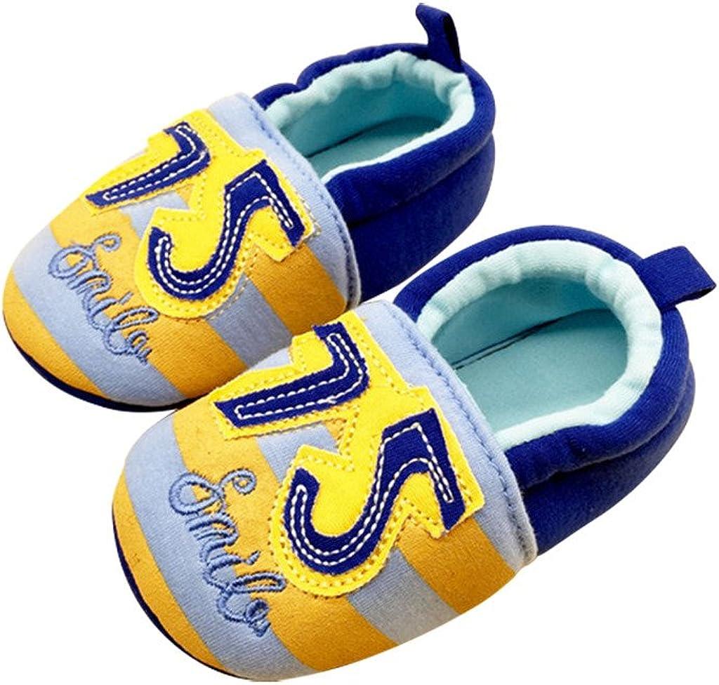 Optimal Baby Girls Cotton Animal Print Walking Soft Sole Crib Shoes