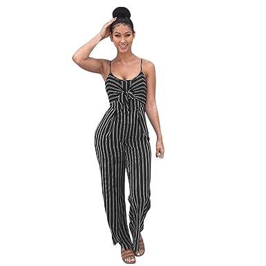Amazon.com Womens Clubwear Jumpsuits Strappy Striped