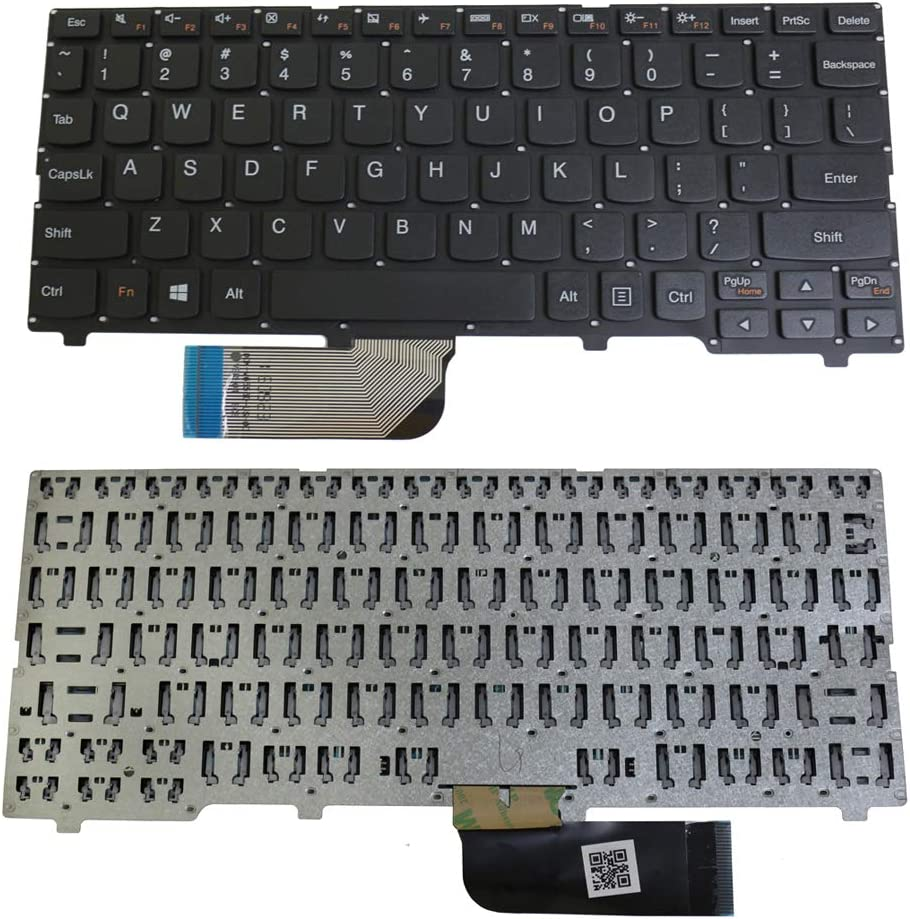 S-Union Replacement Laptop Keyboard for Lenovo Ideapad 100S-11IBY Series Laptop