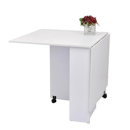Outsunny - Tavolo pieghevole scrivania tavolo mensola tavolino in ...