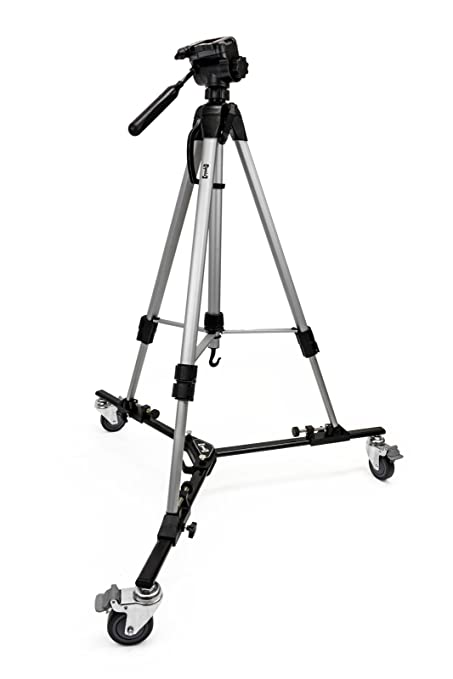 Amazoncom Opteka M3 Professional Heavy Duty Folding Tripod Dolly