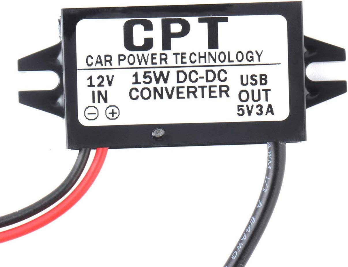 Car Charge DC Converter Module 12V To 5V Micro USB Output Power Adapter 15W 3A