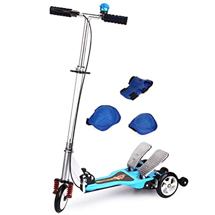 Amazon Com Tricycle Scooters 3 Wheels Children Kick Scooter 5 6 14