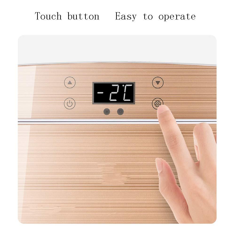 Mini refrigerador Control- 25L Doble Uso congelador peque/ño Feifei Mini Nevera Refrigerador para Autos 12 vatios para el hogar Pantalla Digital
