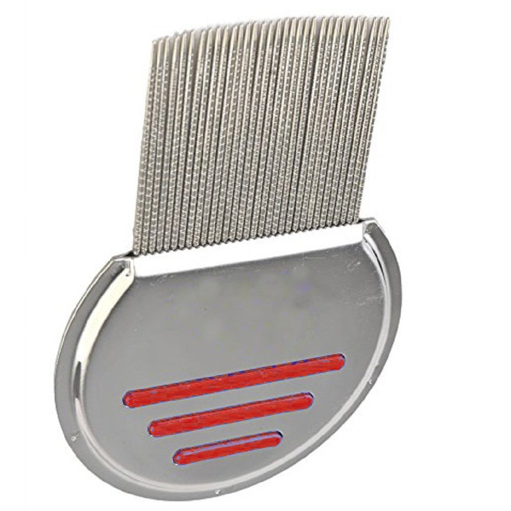 Lice Comb,Terminator Nit, Stainless Steel Durable Design, The Best Lice Comb Available