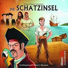 Die Schatzinsel Hörspiel von Robert Louis Stevenson Gesprochen von: Gordon Piedesack, Michael Krüger, Martin Schäfer