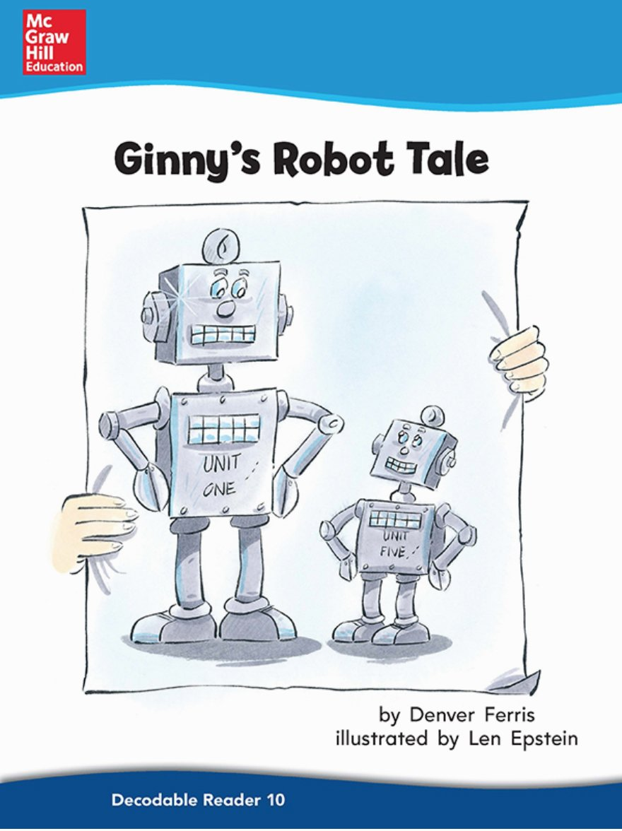 Ginnys Robot Tale (On Level, Grade 2) (English Edition) eBook ...