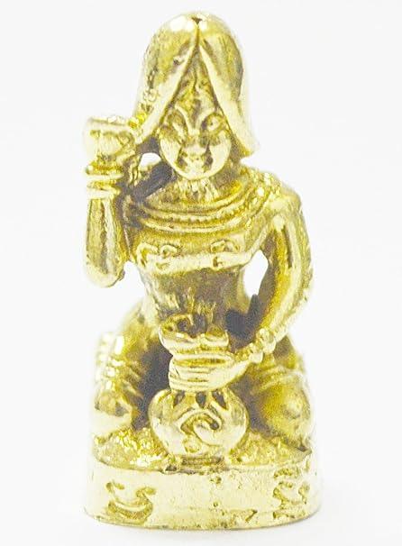 Thai Magic Amulet Necklace Paladkik Nang-kwak Love Luck Charm Thai Amulet