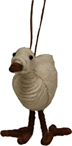 Fair Trade Yarn Bird Holiday Ornament or Home Decor from Colombia