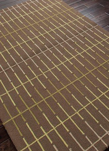 [Jaipur Rugs Inc Hand hooked, In Line Light Leaf Green/Light Leaf Green, 7.6 by 9.6 Feet] (Leaves Hooked Rug)