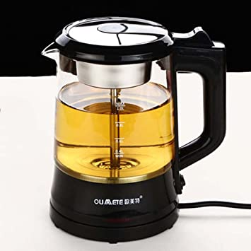 PEIEI- Tetera de vidrio, tetera de té negro, estufa de té Pu