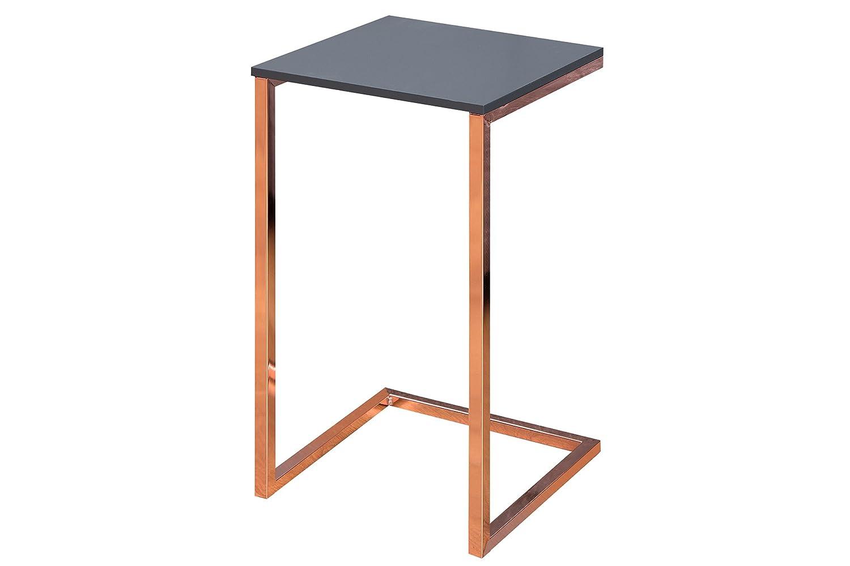 DuNord Design - Mesa Auxiliar Mesa Comfort High 60 cm Antracita ...