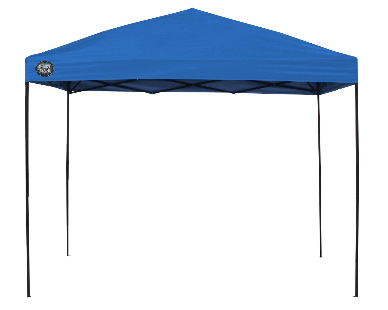 Amazon.com Shade Tech II ST100 10u0027x10u0027 Instant Canopy - Blue Sports u0026 Outdoors  sc 1 st  Amazon.com & Amazon.com: Shade Tech II ST100 10u0027x10u0027 Instant Canopy - Blue ...
