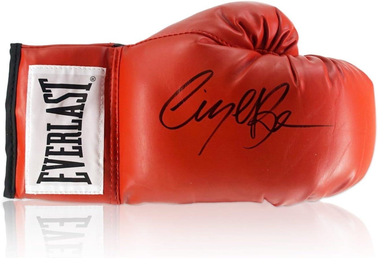 Guante de boxeo firmado por Nigel Benn: Amazon.es: Deportes y aire libre