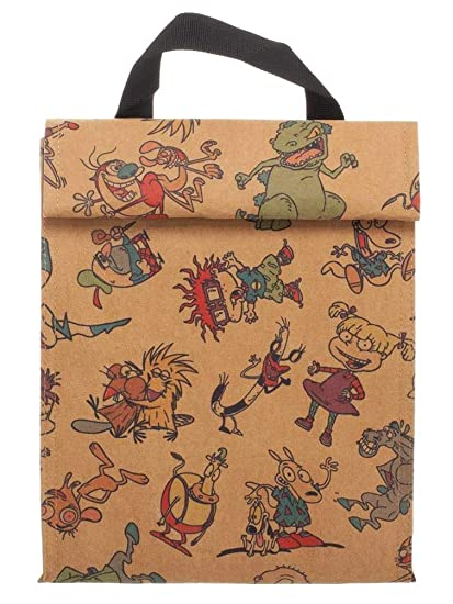 1d6ea702b4 Amazon.com: Nickelodeon Lunch Box 90s Cartoon Characters Rugrats Ren ...