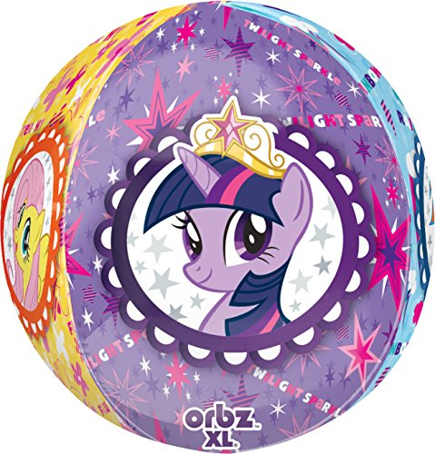 Anagram International My Little Pony Orbz Balloon Pack, 16