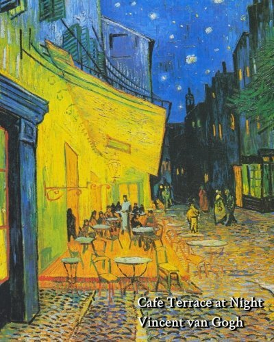 - Cafe Terrace at Night (Vincent van Gogh) - Notebook/Journal: 8