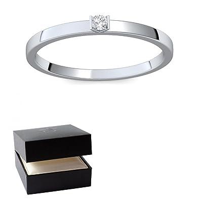 Weißgold ring verlobung  Verlobungsringe Weißgold 585 Brillant