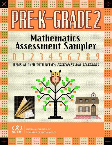 Mathematics Assessment Sampler, Prekindergarten-Grade 2 by Deann Huinker (2006-01-01)