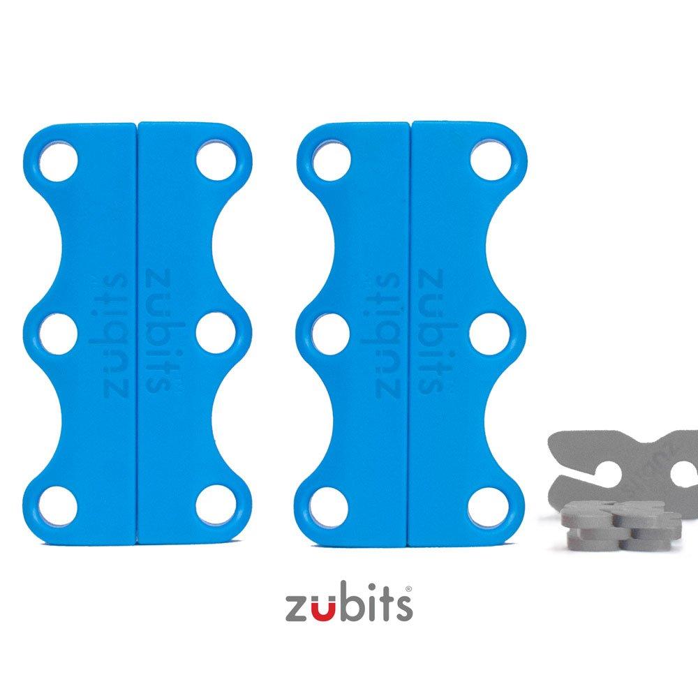 47dd5a420404cb Zubits Magnetic Shoe Closures Unisex  Never Tie Laces Again  - Sizes 1