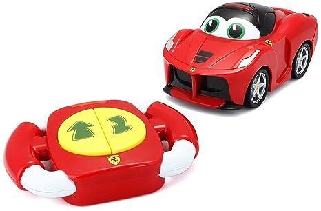 79f0e0eaabaeac Bburago Maisto France - 82002 - Voiture radiocommandée Ferrari Bébé Lil  Drivers - La Ferrari