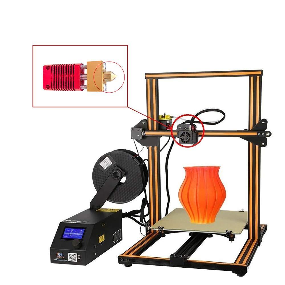 20PCS 3D Printer Nozzles MK8 Nozzle 0.4mm Extruder Print Head with Storage Box for 3D Printer Makerbot Creality CR-10