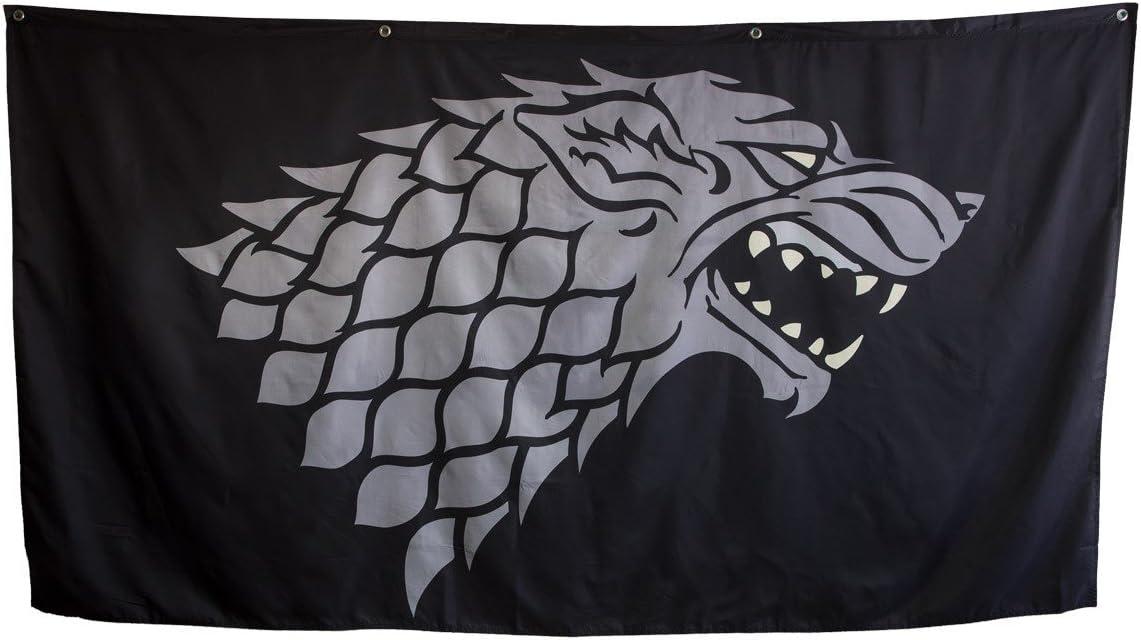 "Calhoun Game of Thrones House Sigil Giant Banner (62"" by 118"") (Stark)"