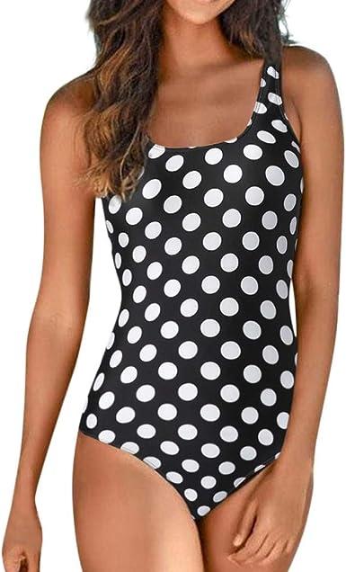 Girls Women Swimming Costume Padded Swimsuit Monokini Swimwear