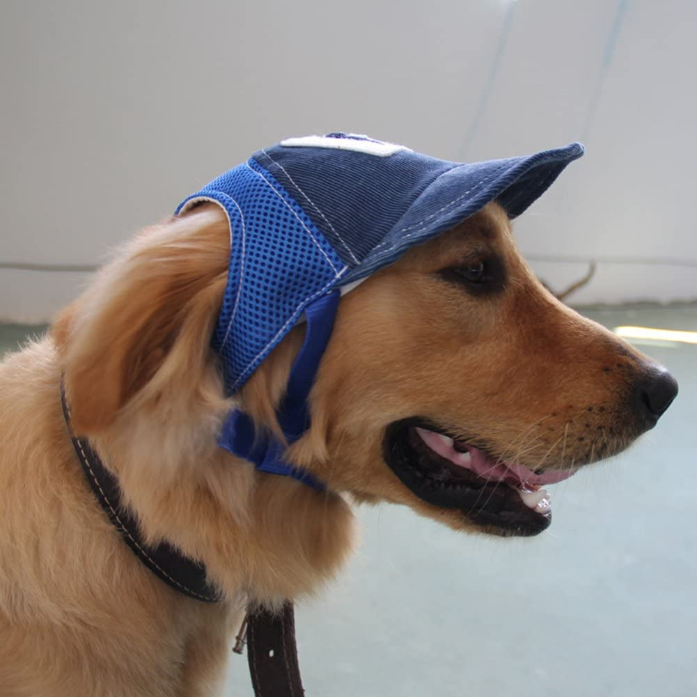 1 Unidad ghfashion Gorra de b/éisbol para Perros y Gatos peque/ños Sombrero de Verano para Mascotas y Perros al Aire Libre