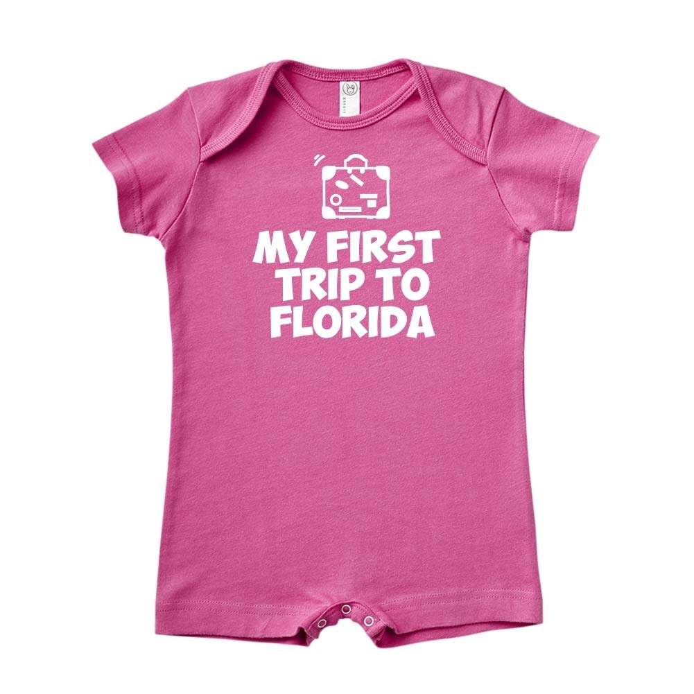 Mashed Clothing My First Trip to Florida Baby Romper