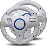 LS 2x Lenkrad Racing Wheel für Nintendo Wii - weiss