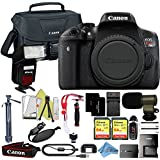 Canon EOS Rebel T6i 18MP Digital SLR Camera Retail Packaging Extreme Video Bundle (Body ONLY)