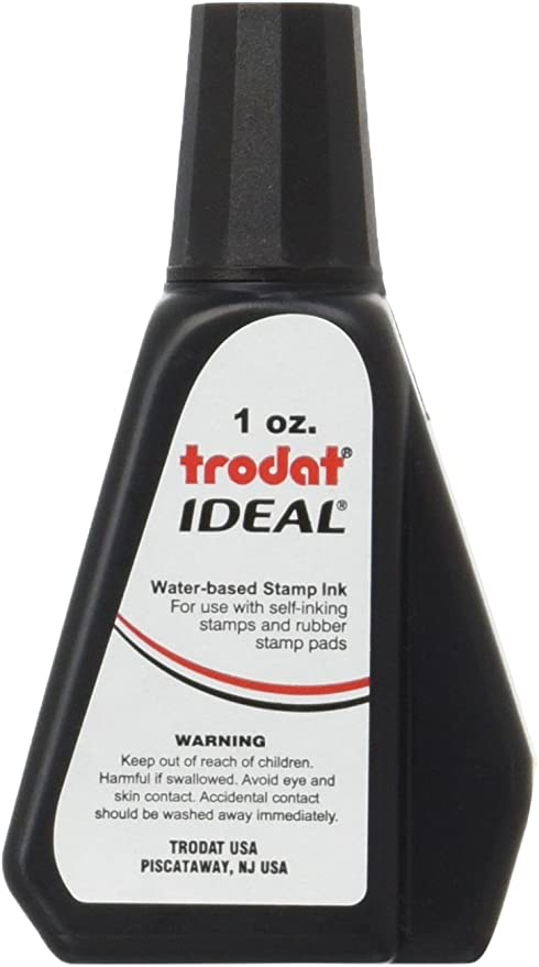 Amazon.com: Botella de recarga de 1 oz para sellos de tinta ...