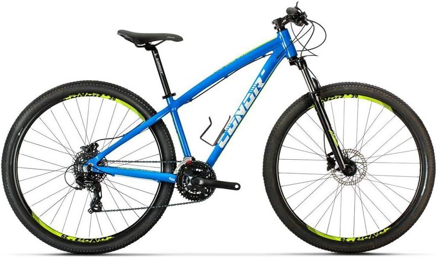 Conor Bicicleta 6700. Bicicleta de montaña con Dos Ruedas. Bici Ejercicio Adultos. Bike Ciudad. Ruedas 29 Pulgadas. 7 velocidades. (Azul LA): Amazon.es: Deportes y aire libre